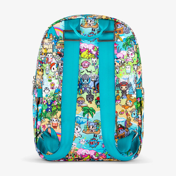 Midi Backpack - Fantasy Paradise