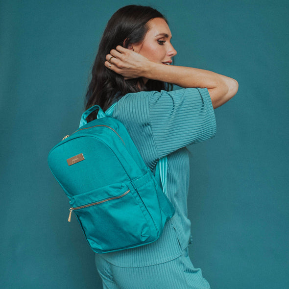 Midi Backpack - Teal Lagoon Chromatics