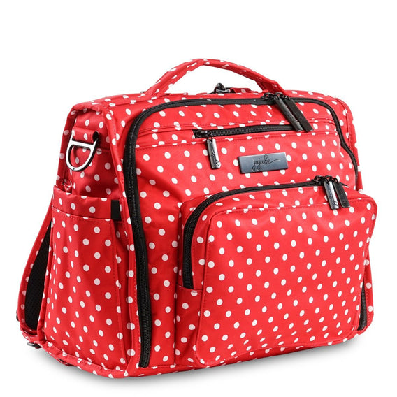 B.F.F. Diaper Bag - Black Ruby - Ju-Ju-Be