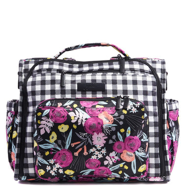 B.F.F. Diaper Bag - Gingham Bloom - Ju-Ju-Be