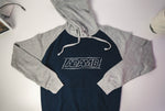 Adam B Adult Navy Two Tone Hoodie