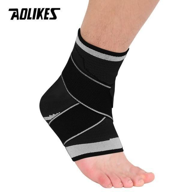 Aolikes Official Store Ankle Support Black with Grey / M Ankle Support Brace