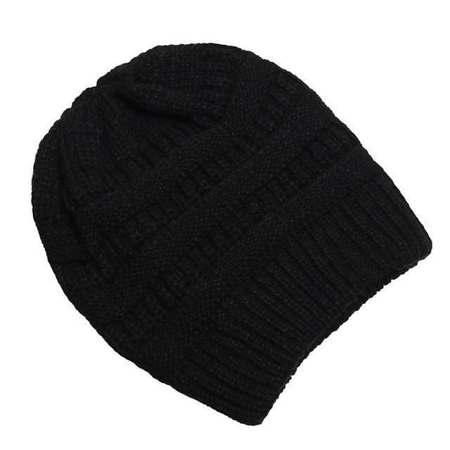 Clothing to You Skullies & Beanies Black With Tag FunkyCC™ Ponytail Beanie