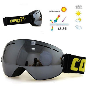 CPZ™ Anti-fog UV400 Ski Goggles