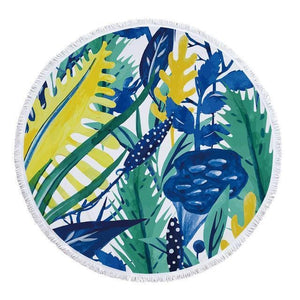 Foxsmarts Beach Towel 13 Tropical Beach Towel With Tassels