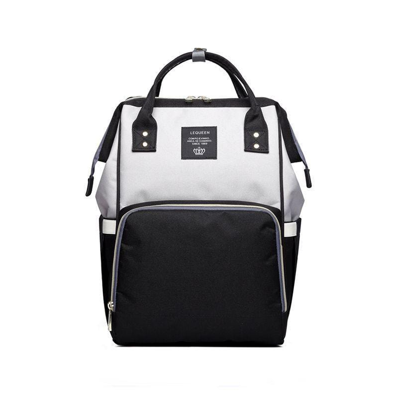 Foxsmarts Black & White Fashion Mom Diaper Bag