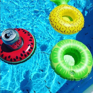 Foxsmarts Blue Inflatable Pool Party Cup Holders