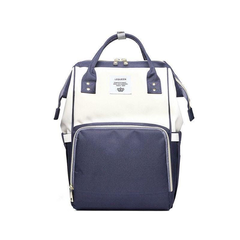 Foxsmarts Blue & White Fashion Mom Diaper Bag