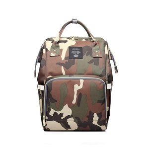 Foxsmarts Camo Fashion Mom Diaper Bag
