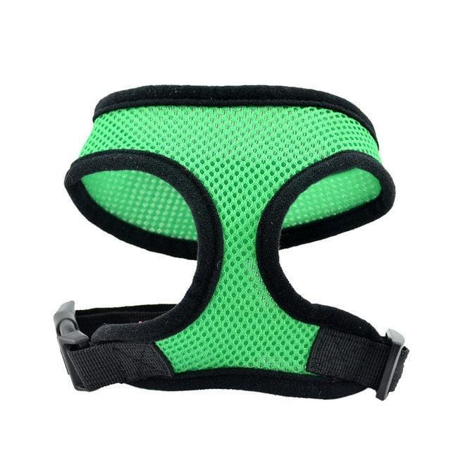 Foxsmarts Dog Harness Green / L CUDDLE™ Breathable Dog Harness