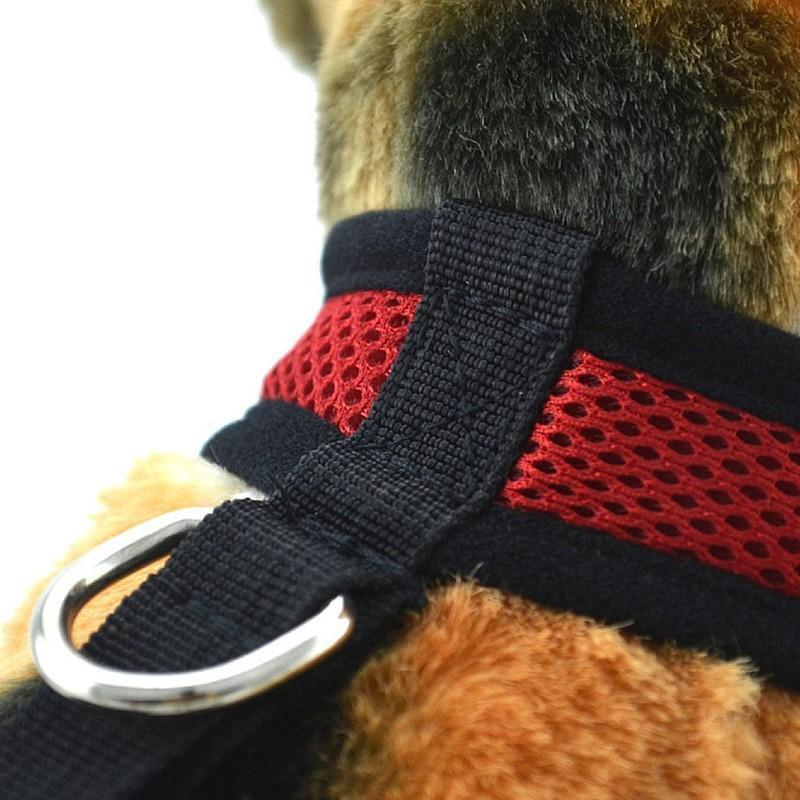 Foxsmarts Dog Harness Red / XS CUDDLE™ Breathable Dog Harness