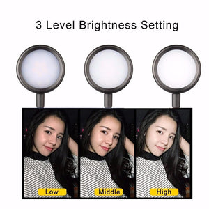 Foxsmarts Led Selfie Ring Light for Live Video Streaming