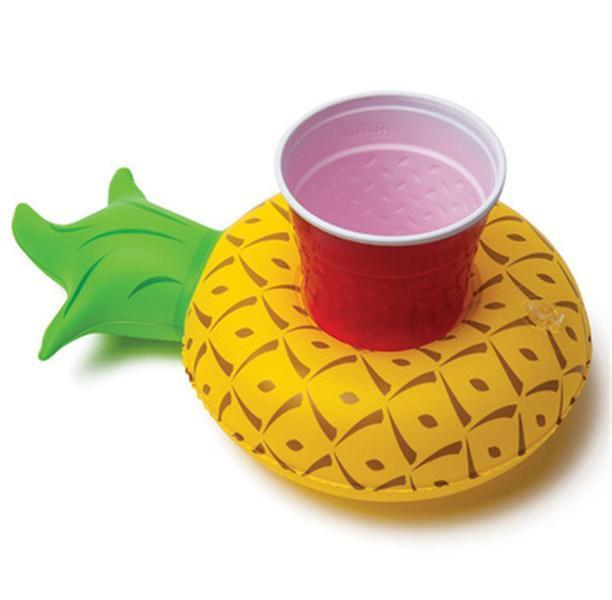 Foxsmarts Pineapple Inflatable Pool Party Cup Holders
