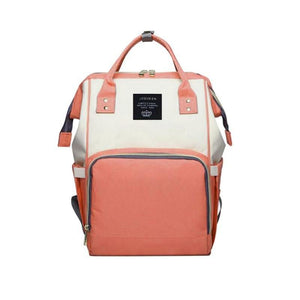 Foxsmarts Pink & White Fashion Mom Diaper Bag