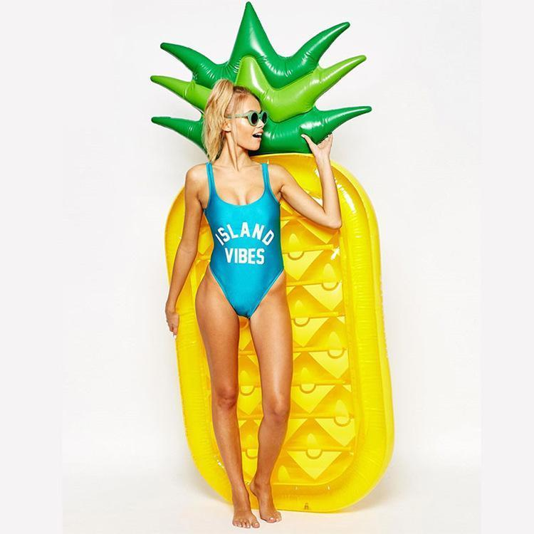Foxsmarts Pool Float Pineapple SunFun™ Inflatable Pineapple And Watermelon Pool Float
