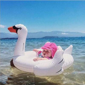 Foxsmarts Pool Float Swan HappyBird™ Inflatable Pool Float For Kids