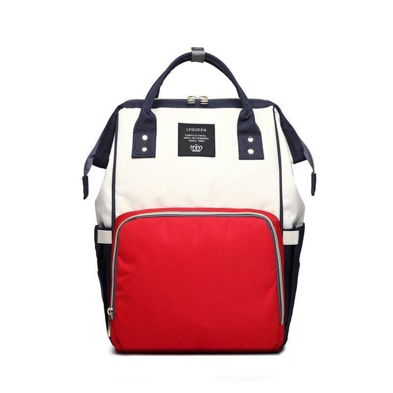 Foxsmarts Red & White Fashion Mom Diaper Bag
