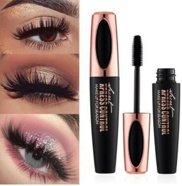 ibcccndc Official Store Mascara Secret™ 4D Silk Fiber Waterproof Eyelash Mascara