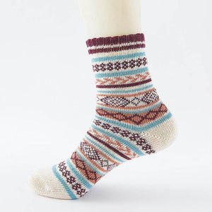 Ice-Rain-Water Store Socks 02 Christmas Wool Socks