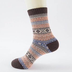 Ice-Rain-Water Store Socks 11 Christmas Wool Socks