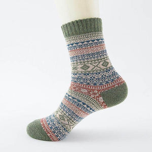 Ice-Rain-Water Store Socks 14 Christmas Wool Socks