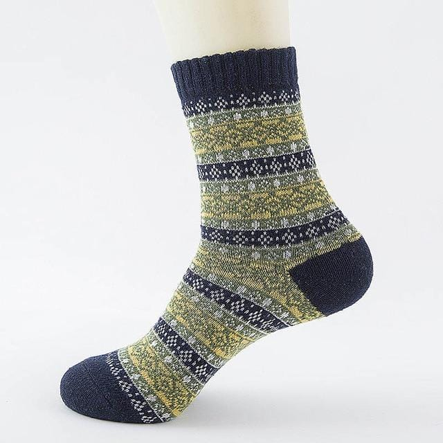 Ice-Rain-Water Store Socks 18 Christmas Wool Socks