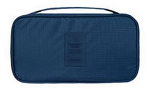 IHAD Official Store Storage Bags Deep Blue Lingerie Organizer Travel Bag