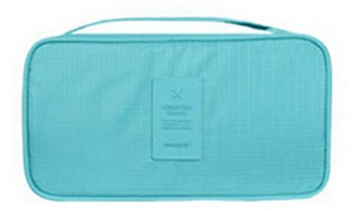 IHAD Official Store Storage Bags Sky Blue Lingerie Organizer Travel Bag