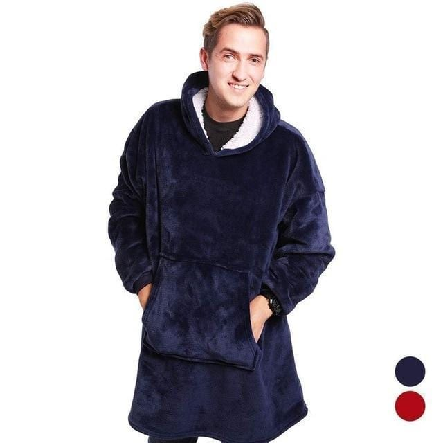 JAGDAMBE Official Store Blankets Blue / One Size For All Oversized Comfy Blanket Hoodie
