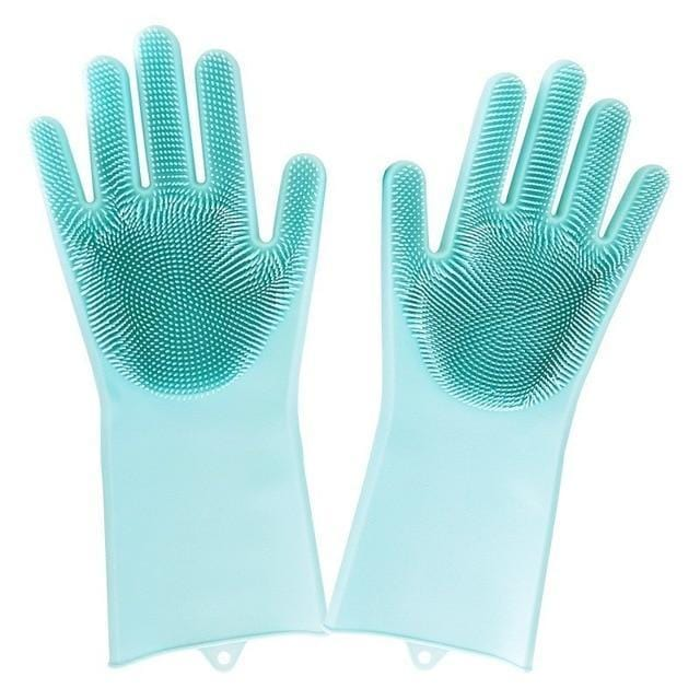 Koohoo Kitchen Store Household Gloves Skyblue Pair / M ( 21 X 14.5CM ) MAGIX™ Universal Cleaning Gloves