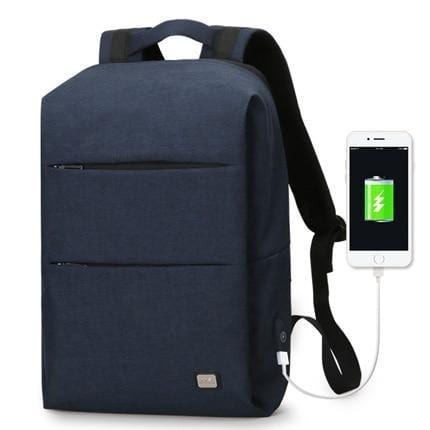 MARK RYDEN Official Store Anti Theft Backpack Blue USB Mark Ryden™ Waterproof Backpack