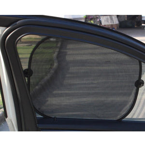 MotoCar Club Store Front Window Car Window Sun Shade - (5 Pack) - Sun, Glare and UV Rays Protection for Your Child