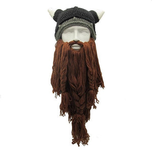 Mr.Kooky Official Store Skullies & Beanies Brown Beard The Legendary™ Viking Beard Beanie