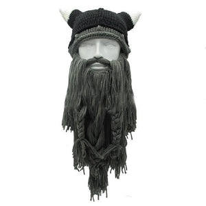Mr.Kooky Official Store Skullies & Beanies Dark Gray Beard The Legendary™ Viking Beard Beanie