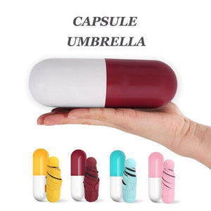 On a Rainy Day Store Umbrellas Red CAPSULE™ Mini Pocket Umbrella