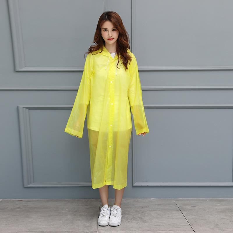 UnderRain Store Raincoats Blue Fashion EVA Women Raincoat