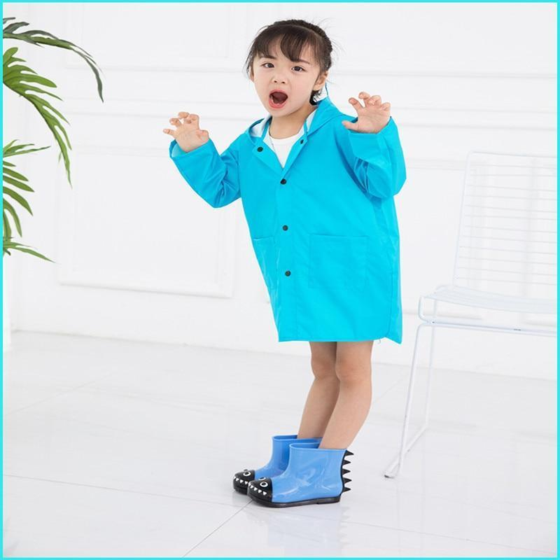 Vilead Official Store Raincoats Blue / S DINO Rain Coat For Kids