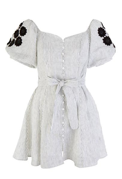 Innika Choo Dots & Daisy Dress - Little Stripe