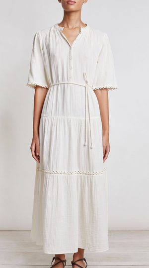 Apiece Apart Alta Dress - Cream