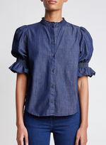 Apiece Apart Los Altos Blouse - Enzyme Wash