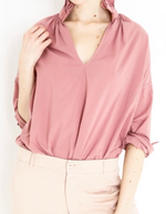A Shirt Thing Penelope Top - Dusty Rose