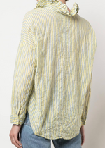 A Shirt Thing Penelope Stripe Top - Yellow