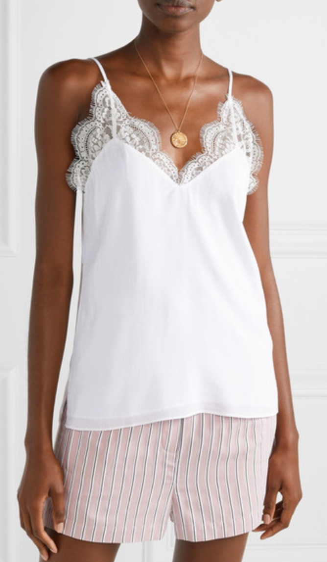 Cami NYC The Marisol Tank - White