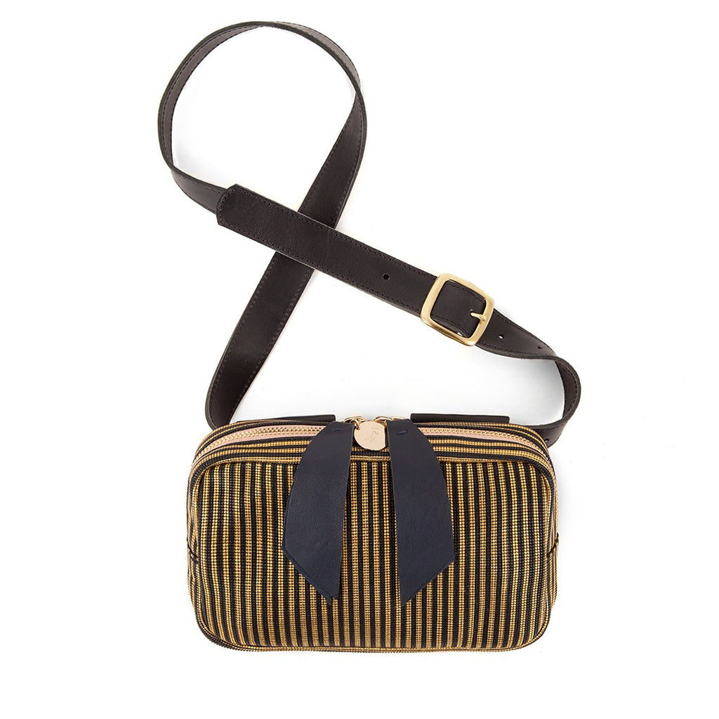 Clare V. Le Belt Bag - Disco Stripe