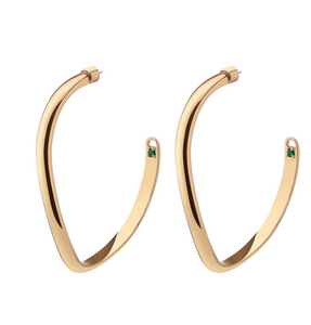 Demarson Calypso Earrings - Gold