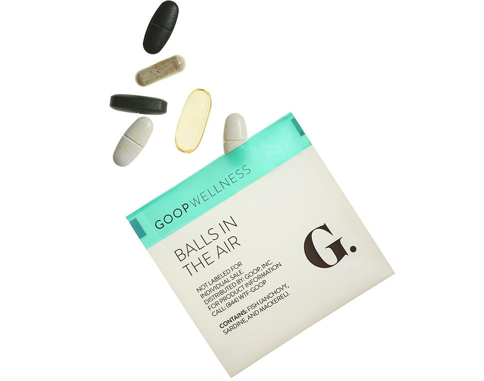 Goop Balls in the Air Daily Vitamins