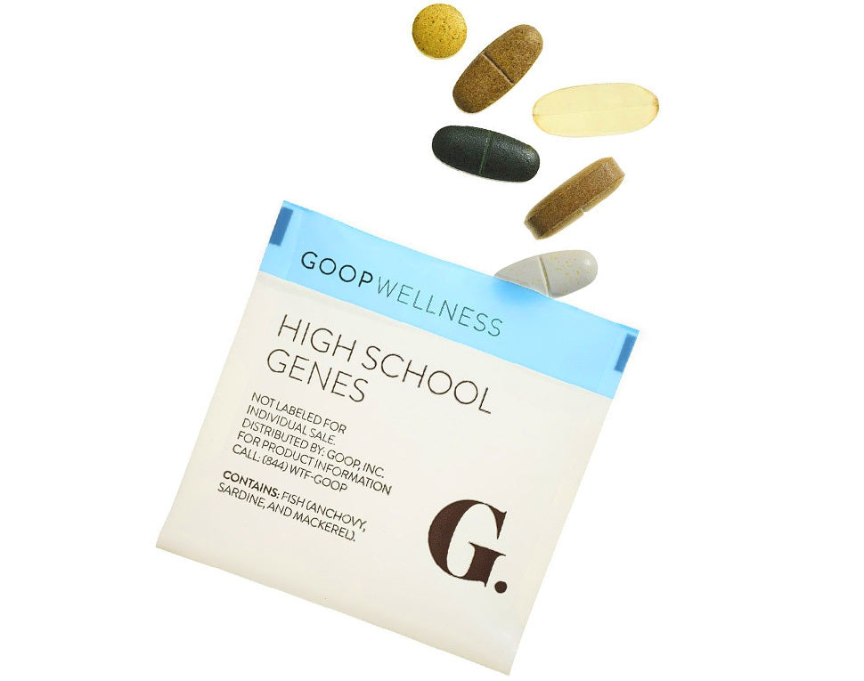 Goop High School Genes Daily Vitamins
