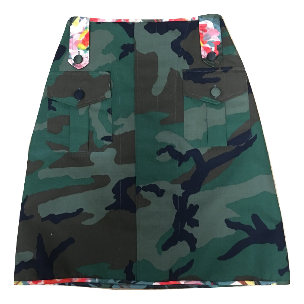 Harvey Faircloth Utility Skirt - Camo