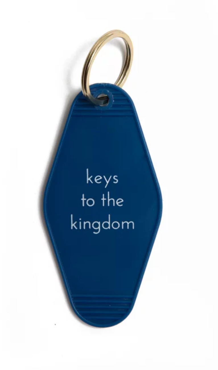He Said She Said Hotel Key Chains