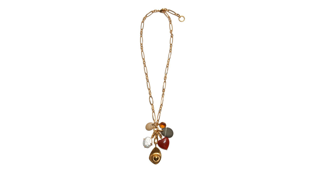 Lizzie Fortunato Ravello Charm Necklace